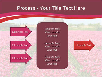 Rows of pink tulips PowerPoint Templates - Slide 85