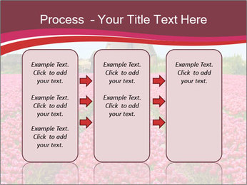 Rows of pink tulips PowerPoint Templates - Slide 86
