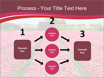 Rows of pink tulips PowerPoint Templates - Slide 92