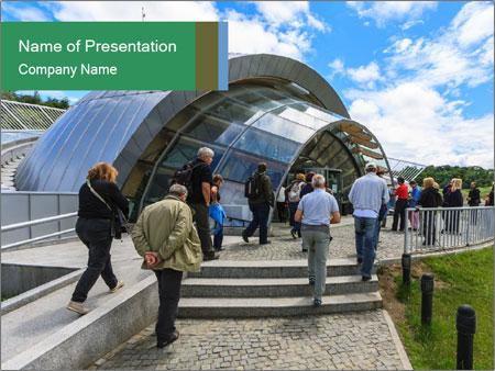 Modern Romanian City PowerPoint Template