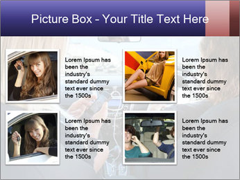 Two Women Driving Car PowerPoint Template - Slide 14