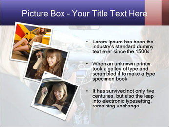 Two Women Driving Car PowerPoint Template - Slide 17