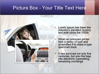 Two Women Driving Car PowerPoint Template - Slide 20