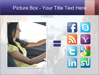 Two Women Driving Car PowerPoint Template - Slide 21