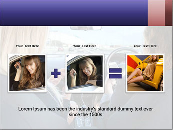 Two Women Driving Car PowerPoint Template - Slide 22