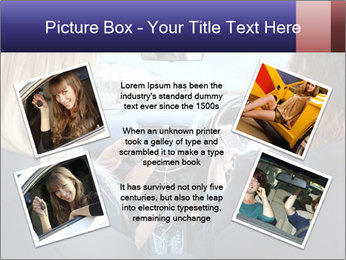 Two Women Driving Car PowerPoint Template - Slide 24