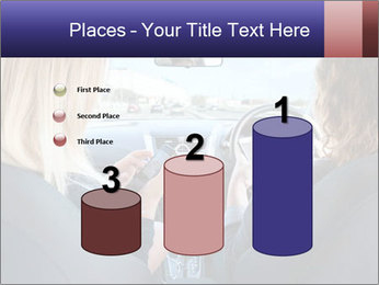 Two Women Driving Car PowerPoint Template - Slide 65