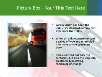 Red Truck PowerPoint Templates - Slide 13