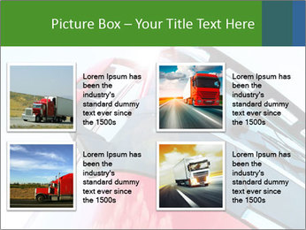 Red Truck PowerPoint Templates - Slide 14