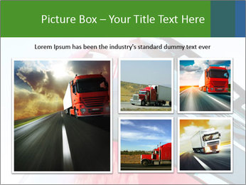 Red Truck PowerPoint Templates - Slide 19