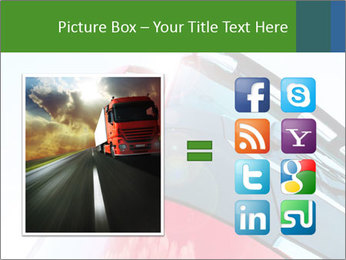 Red Truck PowerPoint Templates - Slide 21