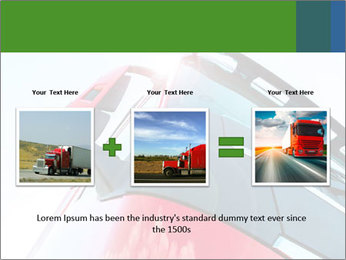 Red Truck PowerPoint Templates - Slide 22