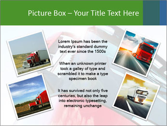 Red Truck PowerPoint Templates - Slide 24