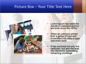 Woman Reading In Cafe PowerPoint Template - Slide 20