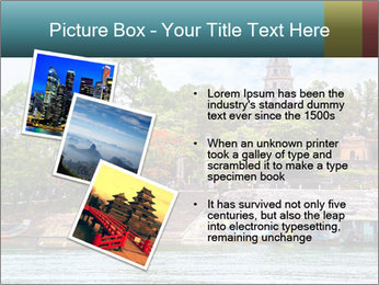 Pagoda in Green Park PowerPoint Template - Slide 17