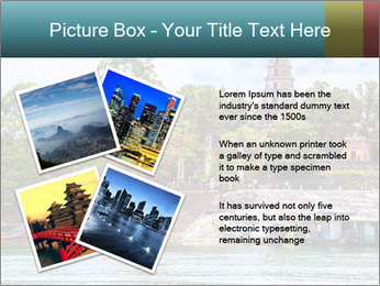 Pagoda in Green Park PowerPoint Template - Slide 23