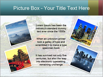 Pagoda in Green Park PowerPoint Template - Slide 24
