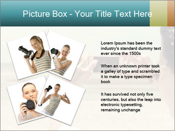 Photo OF Beach PowerPoint Template - Slide 23
