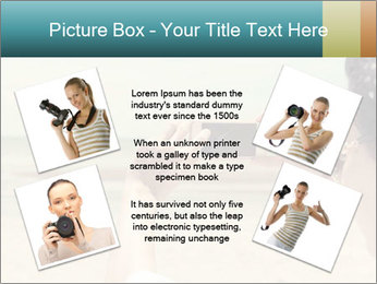 Photo OF Beach PowerPoint Template - Slide 24