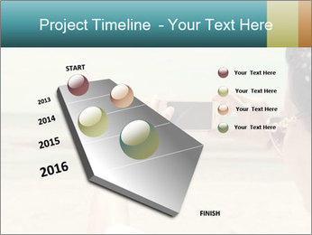 Photo OF Beach PowerPoint Template - Slide 26