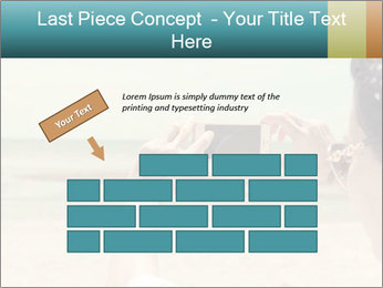 Photo OF Beach PowerPoint Template - Slide 46