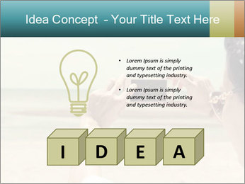 Photo OF Beach PowerPoint Template - Slide 80