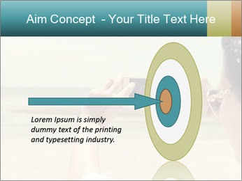 Photo OF Beach PowerPoint Template - Slide 83