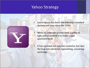 Friends Take Selfie Photo PowerPoint Template - Slide 11