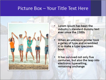 Friends Take Selfie Photo PowerPoint Templates - Slide 13
