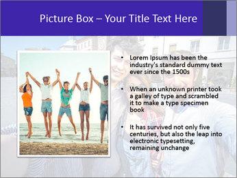 Friends Take Selfie Photo PowerPoint Template - Slide 13