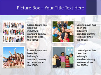 Friends Take Selfie Photo PowerPoint Template - Slide 14