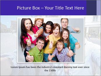 Friends Take Selfie Photo PowerPoint Template - Slide 15