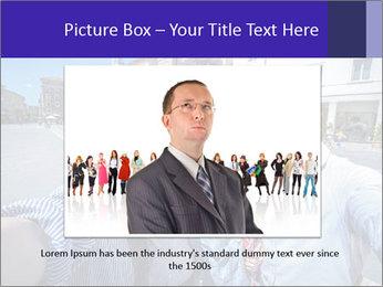 Friends Take Selfie Photo PowerPoint Template - Slide 16