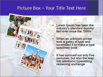 Friends Take Selfie Photo PowerPoint Template - Slide 17