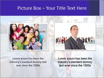 Friends Take Selfie Photo PowerPoint Template - Slide 18