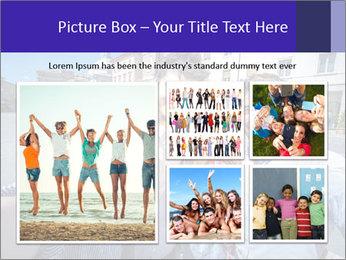 Friends Take Selfie Photo PowerPoint Template - Slide 19