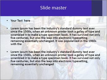 Friends Take Selfie Photo PowerPoint Template - Slide 2