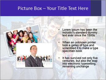 Friends Take Selfie Photo PowerPoint Template - Slide 20