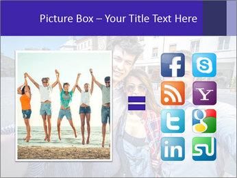 Friends Take Selfie Photo PowerPoint Template - Slide 21