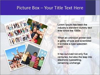 Friends Take Selfie Photo PowerPoint Template - Slide 23