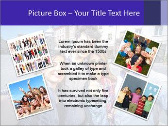 Friends Take Selfie Photo PowerPoint Template - Slide 24