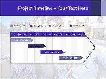 Friends Take Selfie Photo PowerPoint Template - Slide 25