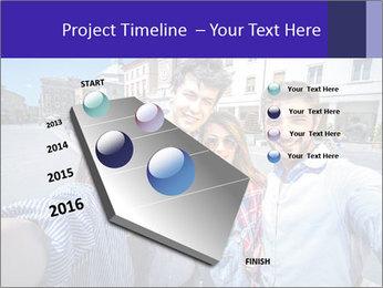 Friends Take Selfie Photo PowerPoint Template - Slide 26