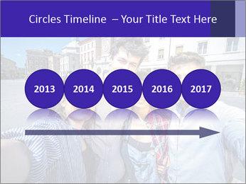 Friends Take Selfie Photo PowerPoint Template - Slide 29