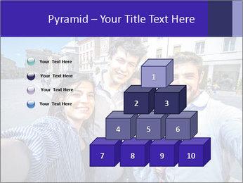 Friends Take Selfie Photo PowerPoint Template - Slide 31