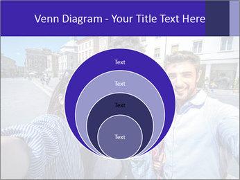 Friends Take Selfie Photo PowerPoint Template - Slide 34