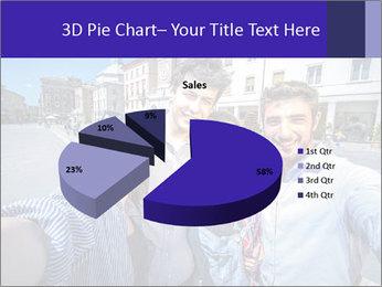 Friends Take Selfie Photo PowerPoint Template - Slide 35