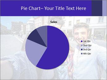 Friends Take Selfie Photo PowerPoint Template - Slide 36