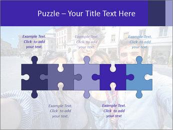 Friends Take Selfie Photo PowerPoint Template - Slide 41