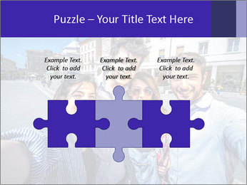 Friends Take Selfie Photo PowerPoint Template - Slide 42